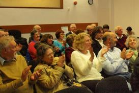 An audience at a JGSGB event