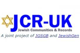 Jewish Communities and Records United Kingdom Logo