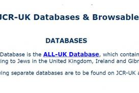 Other JCR-UK Databases and Browsable Lists